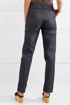 Vanessa Seward - Dimitri Mid-rise Straight-leg Jeans - Indigo - FR40
