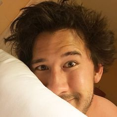 Love the bed-head, Mark! :)