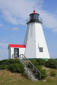 Gurnet Light - Duxbury Beach in Massachusetts