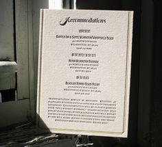 letterpress-reception-menu