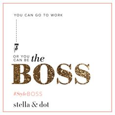 Such a life changing opportunity! Join my Stella & Dot team as a stylist with their best ever sign up offer in January 2017...make 2017 your year! Contact me through my link in profile x #girlboss #extradordinary