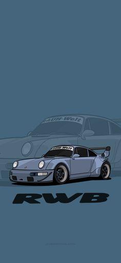 RWB Porsche iphone Wallpaper HD