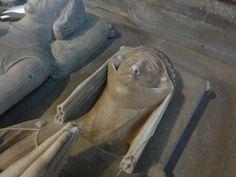 Basilique royale de Saint-Denis - gisant de Marguerite d'Artois | Flickr: partage de photos!