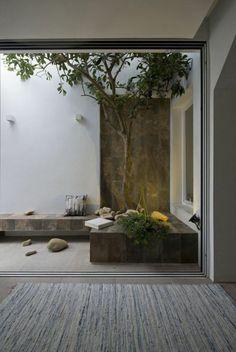 Une terrasse minimaliste