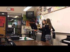 ▶ Flute Duet - OMEA Solo Ensembles 2013 - YouTube