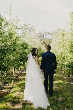 Chic Country Orchard Wedding - Polka Dot Bride | Photo by Aimee Claire http://www.aimeeclaire.com.au/