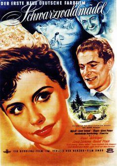 Poster zum Film: Schwarzwaldmädel. 1950