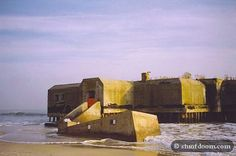 WWII bunkers, Cape May, NJ