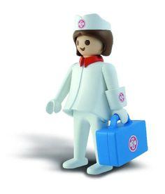Click de Playmobil. Enfermera gigante