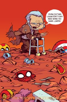 "Images for : EXCLUSIVE: Things Get Hairy in Skottie Young's ""Inhumans,"" ""Old Man Logan"" Variants - Comic Book Resources"