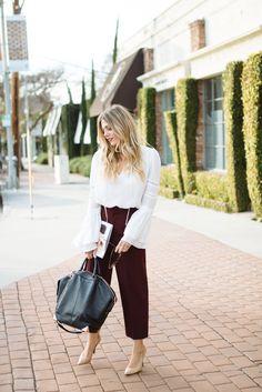 Devon Rachel: Bell Sleeve Blouse