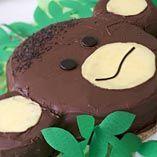 Aptårta - Recept http://www.dansukker.se/se/recept/aptaarta.aspx Söt tårta som tar en rakt in i djungeln #cake #djungel #barnkalas #inspiration