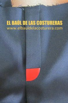 Como coser un cierre a un pantalón Sewing Tutorials, Sewing Projects, Sewing Tips, Embroidery Patterns, Stitch Patterns, Sewing Paterns, Zipper Tutorial, Sewing Courses, Sewing Pants