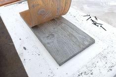 Elegant Make Rubber Mold With Wood Grain, Then Cast Concrete. (Iu0027ll Never