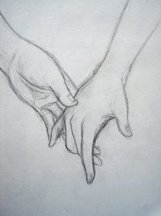 touching hands sketch