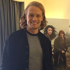 Elle Canada published an interview with Sam Heughan that was done before the second half of season one of Outlander started and before season two filming began.  Below are excerpts from the intervi...