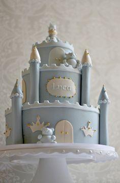 Luca's Little Prince Baby Shower Cake