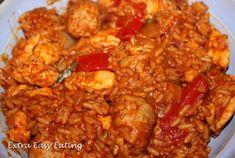 Slimming World Extra Easy Eating - chicken jambalya recipe