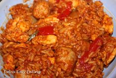 Slimming World Extra Easy Eating - chicken jambalya recipe