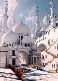 Abu Dhabi Mosque ✨
