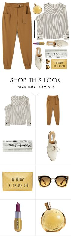 """Oh Friday let me hug you!"" by celida-loves-pink ❤ liked on Polyvore featuring Monse, MANGO, Steve Madden, T-shirt & Jeans, Miu Miu, Winky Lux, Givenchy, ootd, loafers and Minimalist"