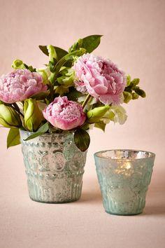 Painted Mercury Vases