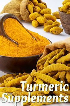 Turmeric (also known as tumeric) is a plant native to southern Asia. Typically, it is the rhizome that is consumed, either as a spice or dietary supplement. It has a warm, earthy flavor and gives curry powder and American mustard their typical yellow color.