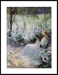 Delicious Solitude Framed Print by Frank Bramley