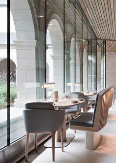 Hôtel Fontevraud in Anjou, France | Jouin Manku (Patrick Jouin & Sanjit Manku)
