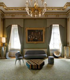 Lancaster House Design by Lee Broom Lancaster House, Lee Broom, Room London, Gold Rooms, Milan Design, Commercial Interiors, House Design, Interior Design, French Interiors