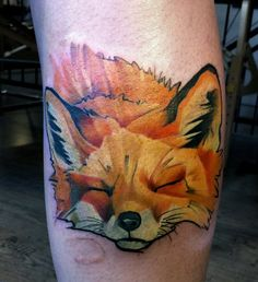 Fox tattoo - 50+ Examples of Fox Tattoo | Art and Design