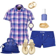 Summer fun Outfit in blues