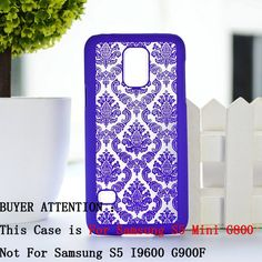 Palace Paper Cut Flower Pattern Henna Floral Retro mobile phone skin case Cover For Samsung Galaxy S5 Mini G800 S 5 V mini shell