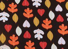 Kinderstoffe - 711 Jersey Bunte Blätter - ein Designerstück von my-kati bei DaWanda