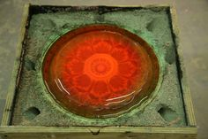 Sand casting with hot glass workshop | Craft in Ireland