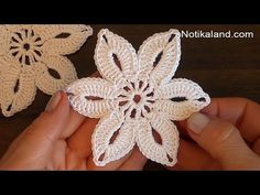 Fast And Easy Flower Applique – Crochet Ideas
