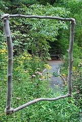 Low Cost No Cost Trellises - Tree Branches After winter storms, will definitely have an abundance of these.