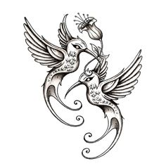 Custom tattoo making! You can make a contest to have people design tattoos based on your description! Then you decide which one is best and pay the winner a reward for their hard work and beautiful design
