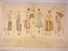 December 1925 Elite Styles Magazine    Elite Styles magazine was the showcase for their Elite Pattern Mail Order Pattern Service. The magazine
