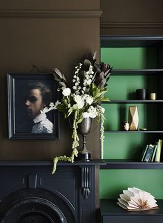 The Dulux Spring 2015 Forecast has been announced, and I'm excited to be the first to share the new colours for the upcoming season. Home Theaters, Bauhaus, My Living Room, Living Spaces, Dark Walls, Color Of The Year, Pantone Color, Spring Colors, Art Nouveau