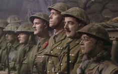 Why the final scene of Blackadder Goes Forth still gives us goosebumps The final scene of Blackadder Goes Forth. How is it possible that an episode of a comedy show first broadcast in 1989 still gives us goosebumps? Comedy Quotes, Comedy Tv, Comedy Show, British Comedy Series, British Tv Comedies, Lord Flashheart, Blackadder Quotes, Ben Elton, Finals