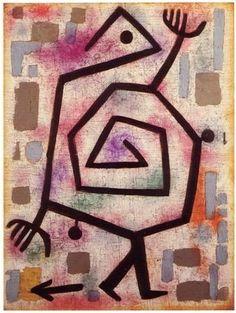 Paul Klee. HEIL SHITLER.