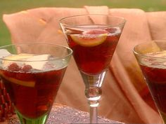 Get this all-star, easy-to-follow Sassy Sangria recipe from Sandra Lee