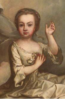 Maria Elisabeth Amelia Antonia Josefa Gabriella Johana Agatha. She was the firstborn child and eldest daughter of Maria Theresa and Francis I.  She died at the age of three, and not much else is known about her.