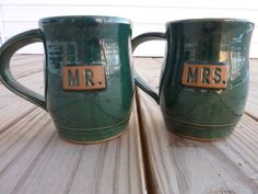 These handmade mugs are made by Weckery with all the proceeds supporting charities like International Justice Mission, which works to end slavery around the world. $45.00/pair