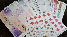 Haul Linou Pots Stickers for Erin Condren & Filofax Planner ♡