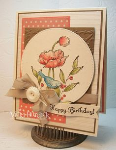 CC451....Happy Birthday by justcrazy - Cards and Paper Crafts at Splitcoaststampers