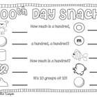 This fun download is for a 100th Day Trail Mix recipe. Let's have some 100th Day fun! ...