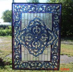 Hanging stained glass brings color into your home. -from C. H. Valhalla
