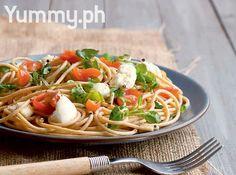 Watercress and Mozzarella Pasta Recipe